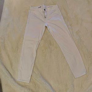 Gap Legging Jean white Size 29/8
